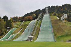 Olympiaschanze (old olympic ski jump) - Garmisch-Partenkirchen, Germany