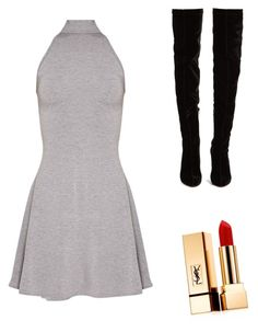 """""""Untitled #5"""" by jetelle on Polyvore featuring Yves Saint Laurent and Christian Louboutin"""