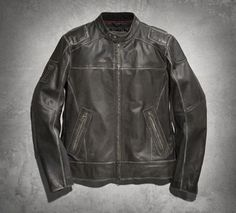 Men's Lone Star Leather Jacket #capitolhd