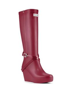 Womans Tall Wedge Rain Boot | Fashion Boots | Hunter Boot Ltd