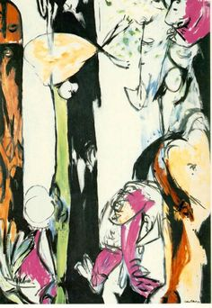 Easter and the Totem - Jackson Pollock