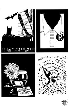 Batman/Mad Men - INKS by *Theamat on deviantART
