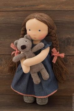 Online shopping on My Livem Diy Waldorf Toys, Waldorf Dolls, Baby Doll Hair, Baby Dolls, Plush Dolls, Doll Toys, Homemade Dolls, Sewing Dolls, Doll Tutorial