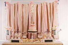 Uma festa de aniversário ao estilo Shabby Chic!