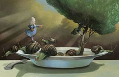 """""""Cosimo"""", il libro di illustrazioni di Roger Olmos omaggia """"Il barone rampante"""" di Italo Calvino. A Bologna la mostra a cielo aperto"""