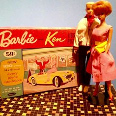 Barbie puzzle circa 1963 from the collection of Julia McLaughlin