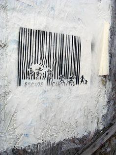 #barcode #code #barre #streetart #home #maison #casa #déco #decoration #decoracion #interiors #inspiration #homedecor #ideas