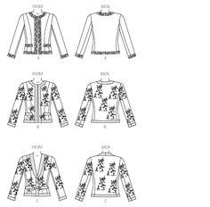 Line Art | Vogue V9095 | Sewing Pattern | Misses' Jacket [Chanel Style Jacket]