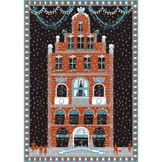 'Christmas House' Christmas card by Alice Pattullo