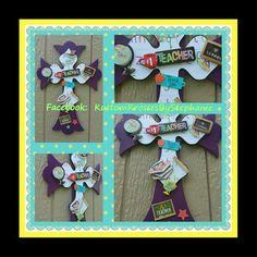 Teacher Appreciation Wall Cross