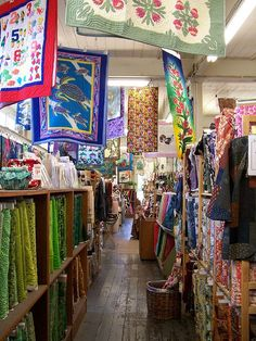Kapaia Stitchery - Kauai  My favorite shop!