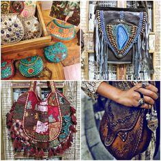bolsas artesanais estilo boho