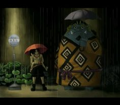 One Piece and Totoro