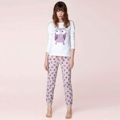 Shopping Afternoon: Mi nuevo pijama de búhos de Oysho
