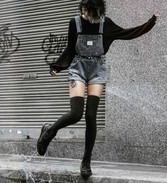 Grunge Style Outfits, Aesthetic Grunge Outfit, Aesthetic Fashion, Cute Casual Outfits, Aesthetic Clothes, Goth Aesthetic, Cute Grunge Outfits, Goth Girl Outfits, Gothic Outfits