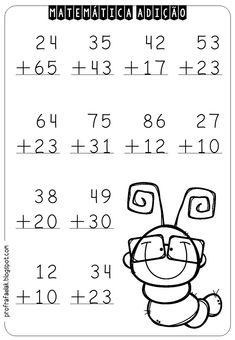 Math Addition Worksheets, First Grade Math Worksheets, 1st Grade Math, Preschool Worksheets, First Grade Reading Comprehension, Homeschool Math, Math For Kids, Teaching Math, Science Activities