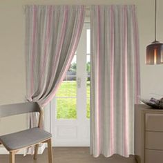 Image for Coastal Dreams, Chambery Petal - Made to Measure Curtains