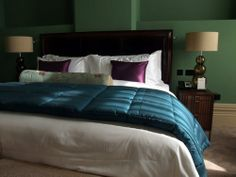Example of a chambers bedroom suite at the St Pancras Renaissance Hotel London