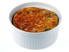 Chicken and Cheddar Souffle Recipe : Giada De Laurentiis : Food Network Cheese Souffle, Souffle Dish, Souffle Recipes, Spinach Souffle, Giada De Laurentiis, Food Network Recipes, Cooking Recipes, Egg Recipes, Cooking Ideas