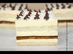 Prajitura de vis reteta video | Adygio Kitchen Savoury Cake, Cheesecakes, Vanilla Cake, Coco, Biscuits, Recipies, Deserts, Food And Drink, Cooking Recipes