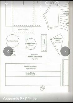 TREN NAVIDEÑO Floor Plans, Diagram, Map, Ideas, Trains, Recycled Materials, Christmas Crafts, Blue Prints, Felting
