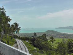 While driving around the Samui island in Thailand. #Samui #Thailand