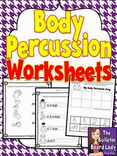 Mrs. King's Music Room: Body Percussion