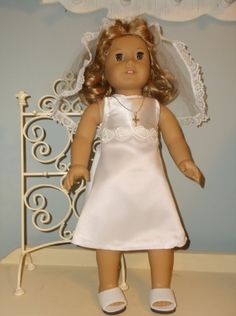 18 inch American Girl Doll First Holy Communion by ProjectFunway, $17.99