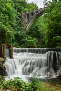 I love how the waterfall cascades over the many rocks that support its amazing balance and tranquility.