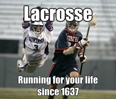Us laxers run faster every year!