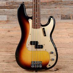 Fender Custom Shop 1959 Precision Bass Relic Sunburst 2004 (s743)