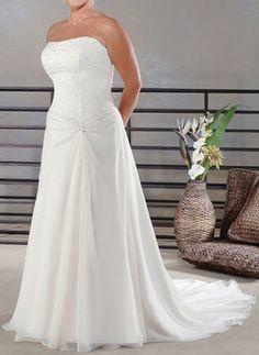 plus size beach wedding dresses