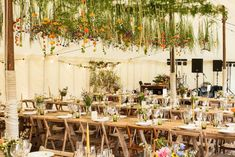 Gorgeous interior within our Traditional Canvas Pole Tent styled by Mathew Oliver http://www.matthewoliver.co.uk/