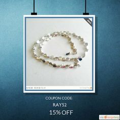 We are happy to announce 15% OFF on our Entire Store. Coupon Code: RAY52.  Min Purchase: $10.00.  Expiry: 18-Aug-2016.  Click here to avail coupon: https://orangetwig.com/shops/AABDdVV/campaigns/AACt6yh?cb=2016006&sn=HeavenlyChains&ch=pin&crid=AACt6zr&utm_source=Pinterest&utm_medium=Orangetwig_Marketing&utm_campaign=Coupon_Code   #etsy #etsyseller #etsyshop #etsylove #etsyfinds #etsygifts #musthave #loveit #instacool #shop #shopping #onlineshopping #instashop #instagood #instafollow…