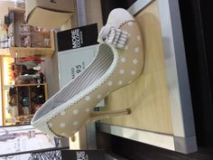 DSW - It's so cute and vintage looking, this shoe is just yelling for the companion of a cardigan and flirt-skirt.