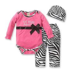 Fashion Autumn Newborn Bebes Romper+Pants+Hat kitty Print Kids Children Clothing 100% High quality