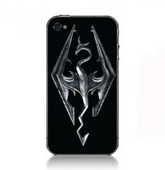 HTC one skyrim case | Elder Scrolls V Skyrim case cover for Iphone 5 4S 3G Ipod touch 5 4 ...