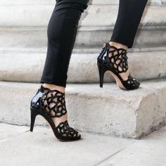 ♥︎ Sargossa Luxury Shoes, Kitten Heels, Peep Toe, High Heels, Footwear, Fancy, Lingerie, Street Style, Style Inspiration