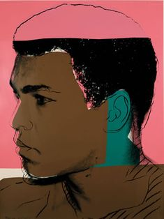 Bid now on Muhammad Ali by Andy Warhol. View a wide Variety of artworks by Andy Warhol, now available for sale on artnet Auctions. Andy Warhol Portraits, Andy Warhol Pop Art, Roy Lichtenstein, Art Marilyn Monroe, Warhol Paintings, Oil Paintings, Dulwich Picture Gallery, La Ilaha Illallah, Power Pop