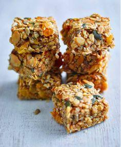 Refined Sugar-free Apricot Orange & Almond flapjacks – Lorraine Pascale