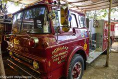 Benemerito Cuerpo De Bomberos De Leon @ Leon, Nicaragua. Old fire truck donated by Fox Lake community fire department Wisconsin, USA