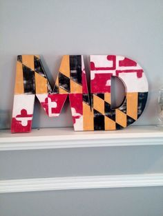 Check out this item in my Etsy shop https://www.etsy.com/listing/244500821/maryland-state-flag-distressed-maryland
