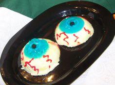 Halloween Eyeball Salads (Jelled)