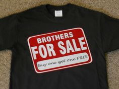 Got something for sale? Advertise on your custom T-Shirt!