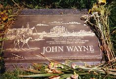 John Wayne, background right out of one of his cowboy movies.