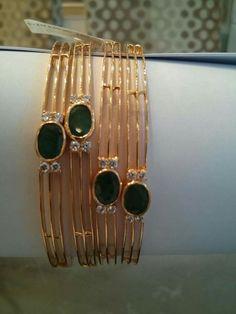 """Bridal Jewellery Inspirations for the Modern Indian Bride! Gold Bangles Design, Gold Jewellery Design, Gold Jewelry, Jewelery, Leather Jewelry, Silver Bracelets, Bangle Bracelets, Necklaces, Bridal Jewellery Inspiration"