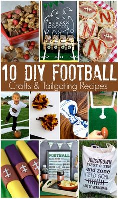 10 DIY Football Craf