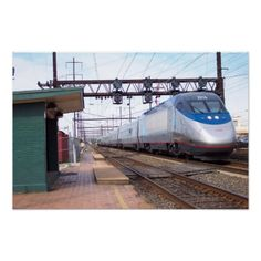 The Acela Trainset has a Locomotive at each end.