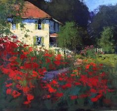 """Artist : Romona Youngquist American Painter. """"LANDSCAPES"""""""