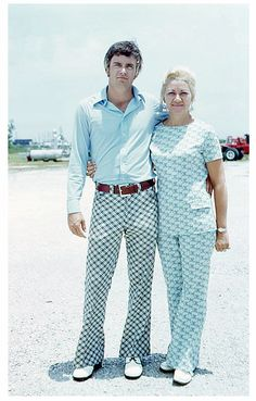 Retro Style My mother made dozens and dozens of these polyester pantsuits in the 70's when Teachers, office workers and church goers were able to wear them in place of skirts.